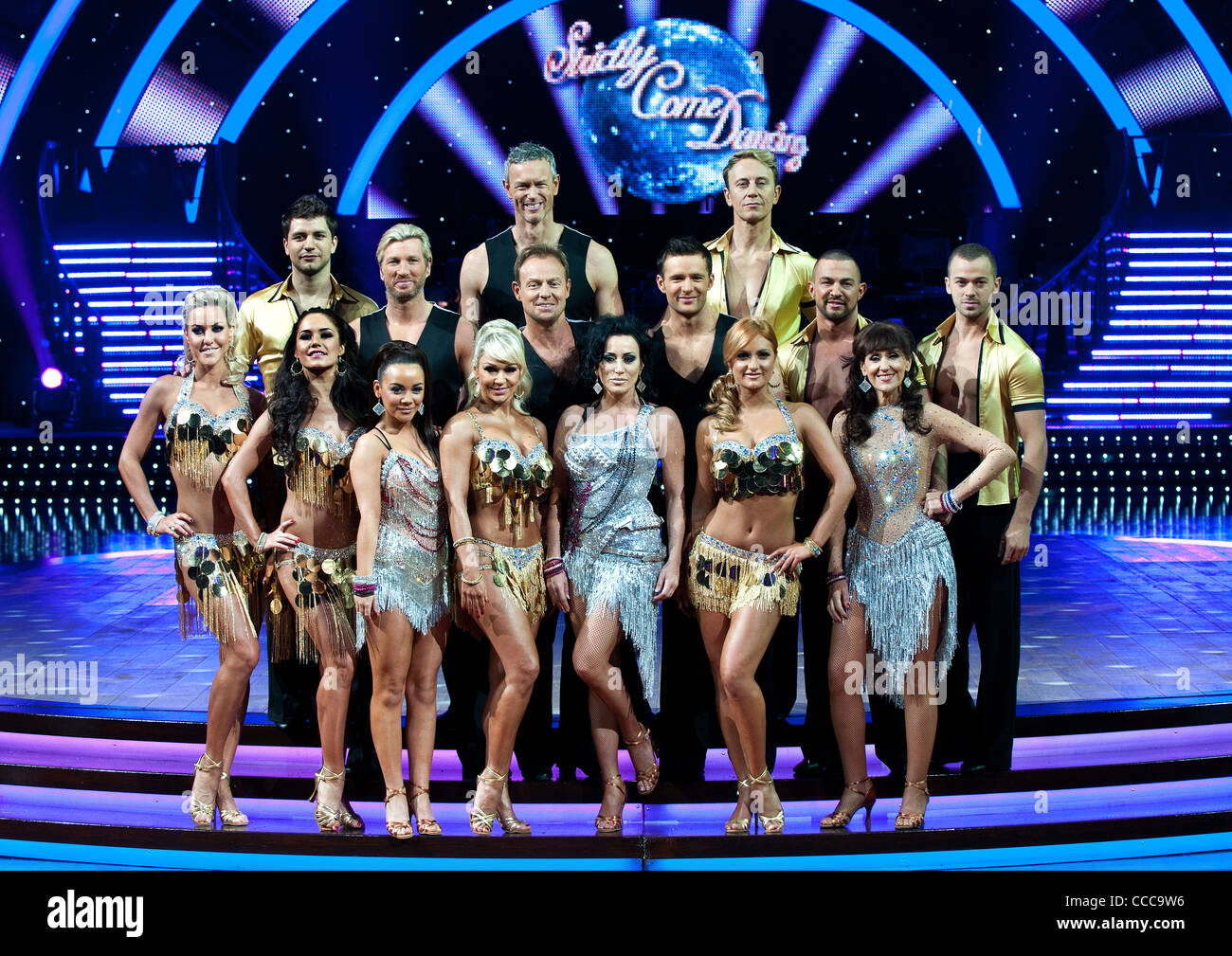 All of the Girls and Boys at the Strictly Come Dancing photo shoot at the national indoor arena in Birmingham. 19th - Stock Image