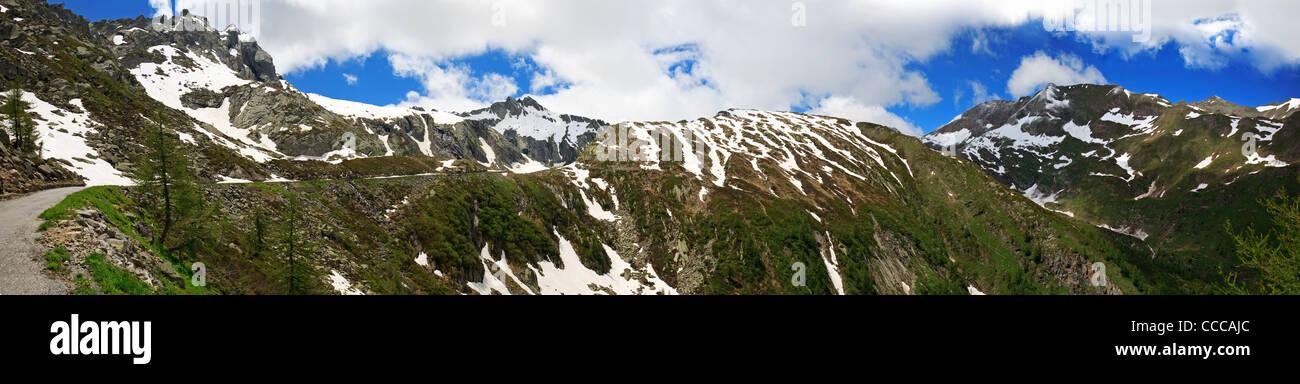 Switzerland Alps, Val Lavizzara Stock Photo