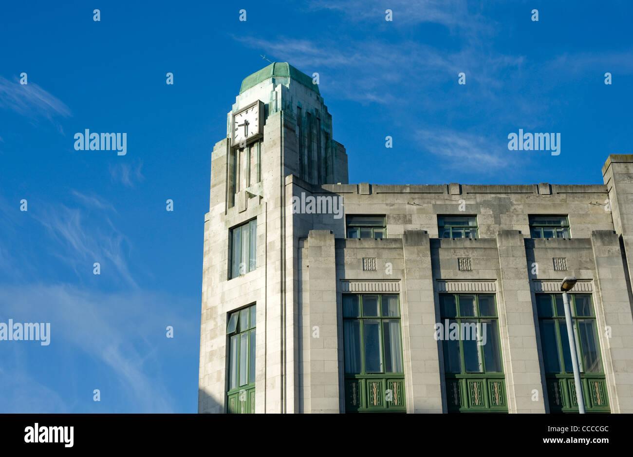 Former Bank of Ireland, Royal Avenue, Belfast - Stock Image