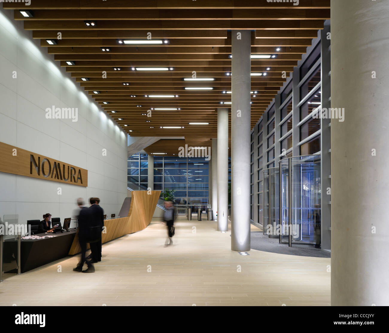 office lobby design. Office Entrance Lobby To Watermark Place, Occupied By Nomura. Architecture  Fletcher Priest And Lighting Design Waterman Office Lobby Design