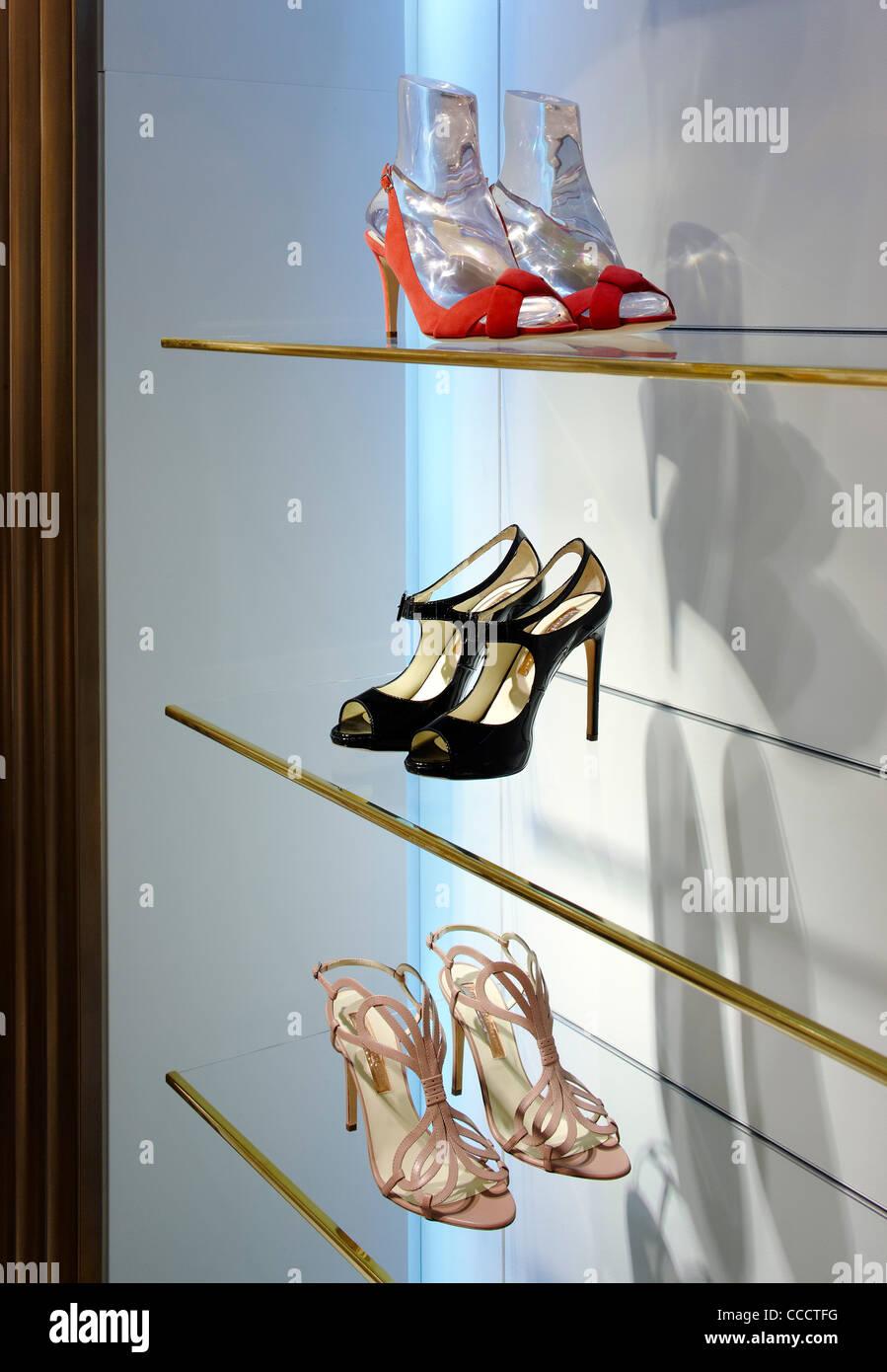 Japanese Hairdresser Covent Garden: Shoe Department London Stock Photos & Shoe Department