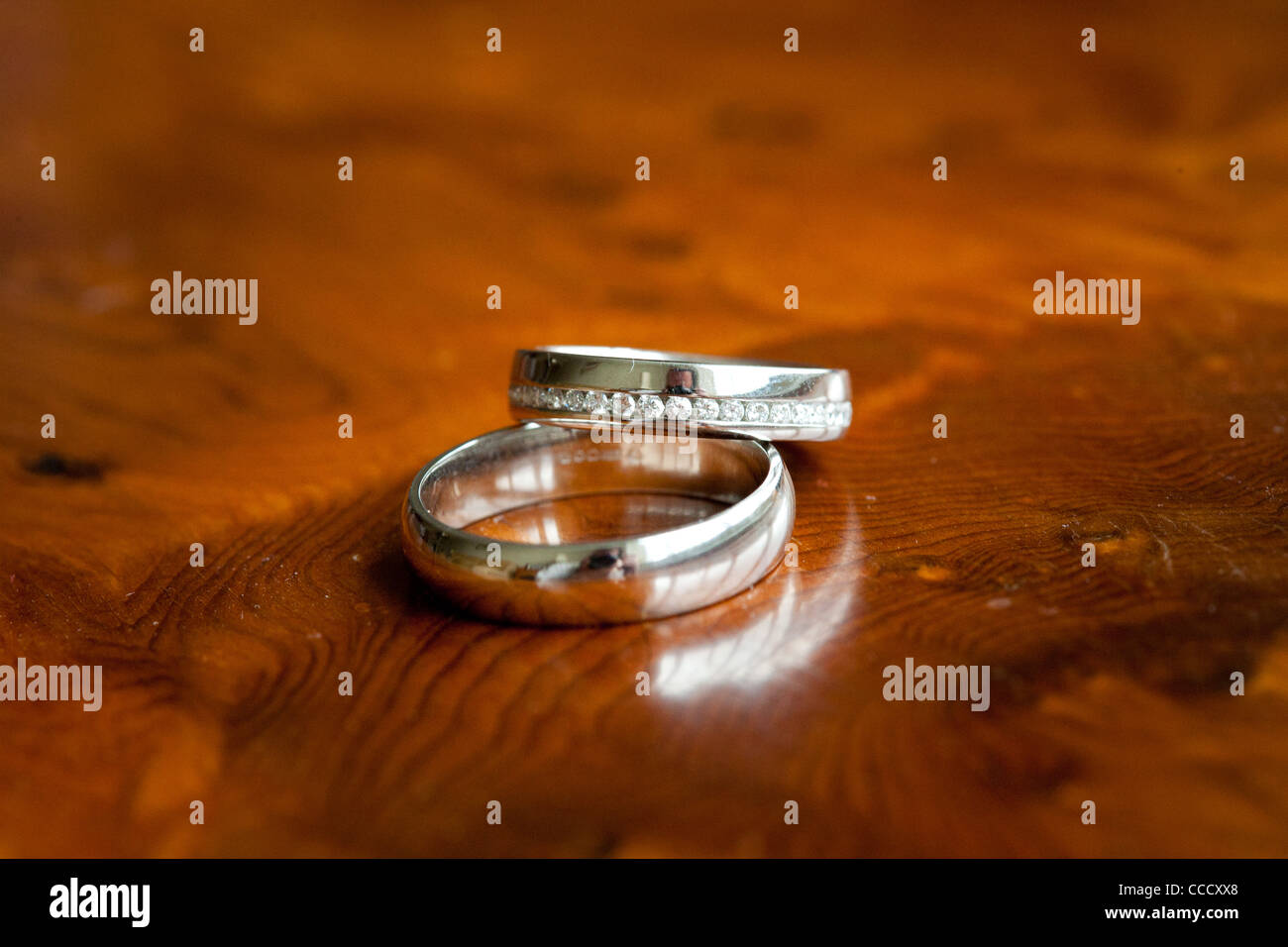 Wedding Rings - Stock Image