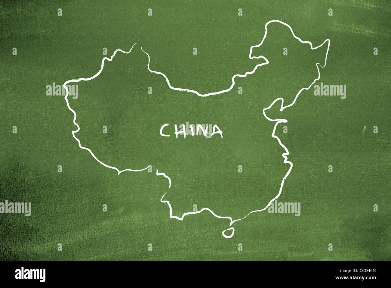 China - Stock Image