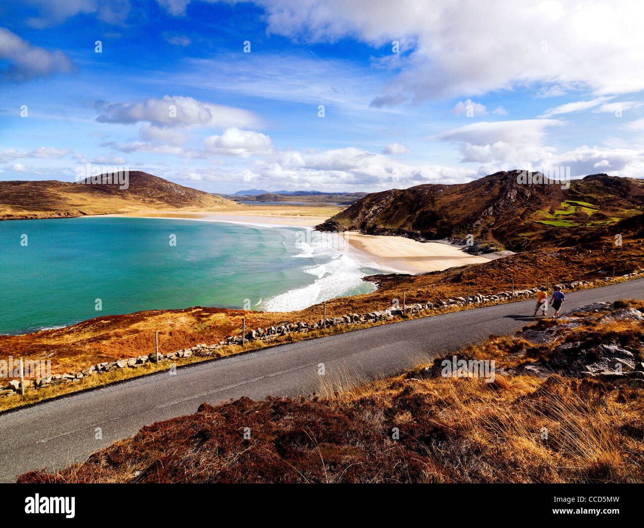 Tranarossan,Rosguill,Co.Donegal, Ireland. - Stock Image