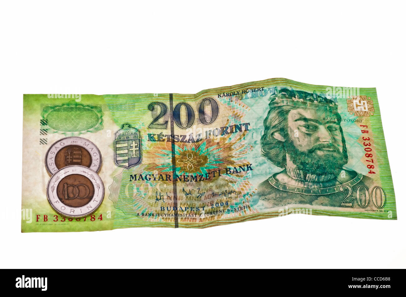currency of Hungary - Stock Image