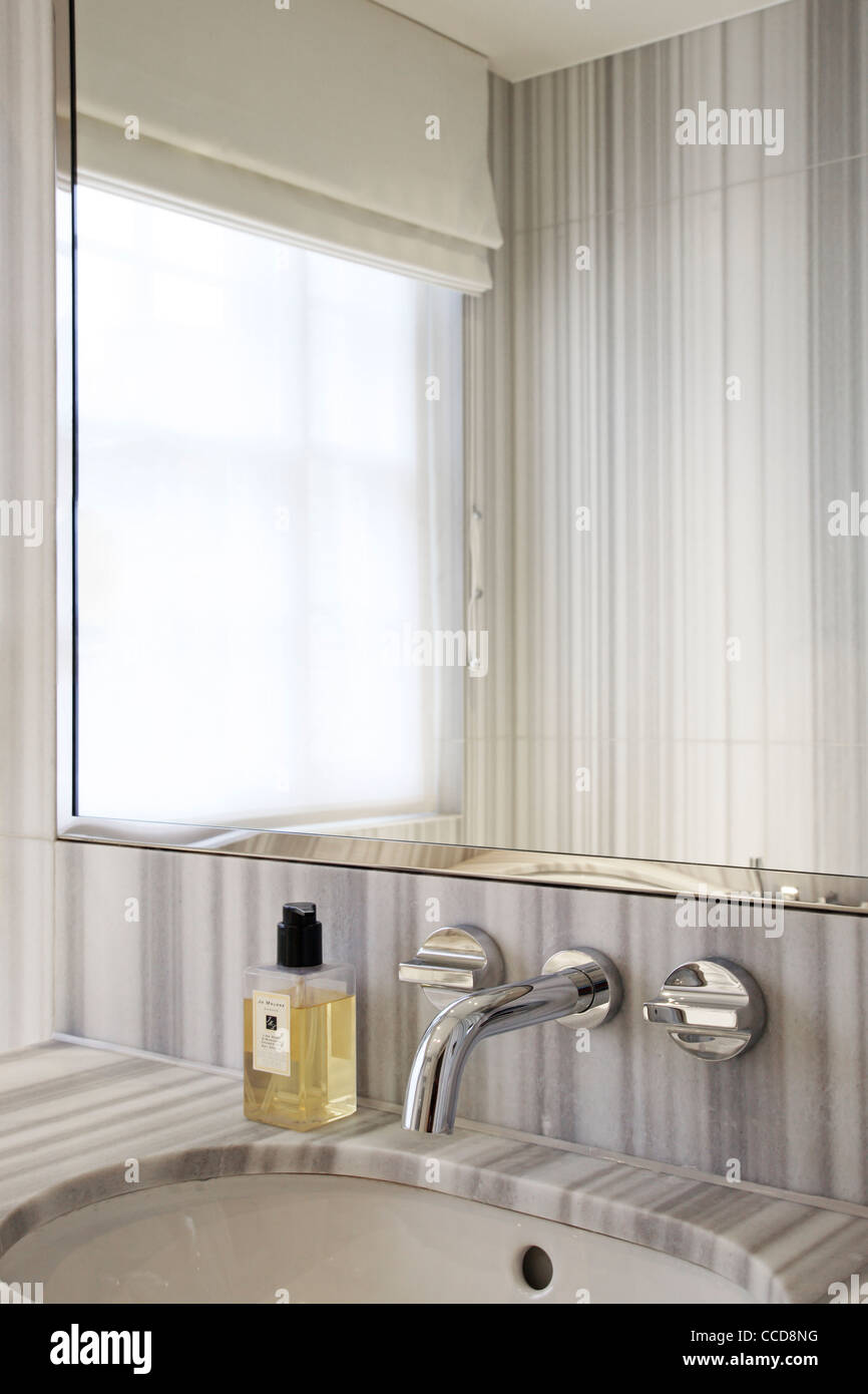Private house, Stiff + Trevillion Architects Ltd, London, UK, 2010, Bathroom - Stock Image