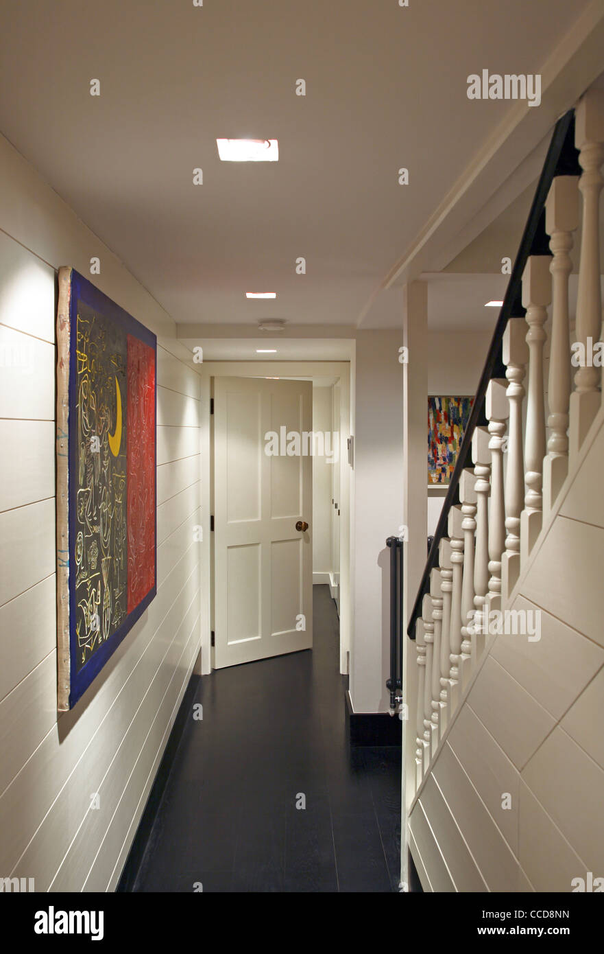 Private house, Stiff + Trevillion Architects Ltd, London, UK, 2010, Basement - Stock Image