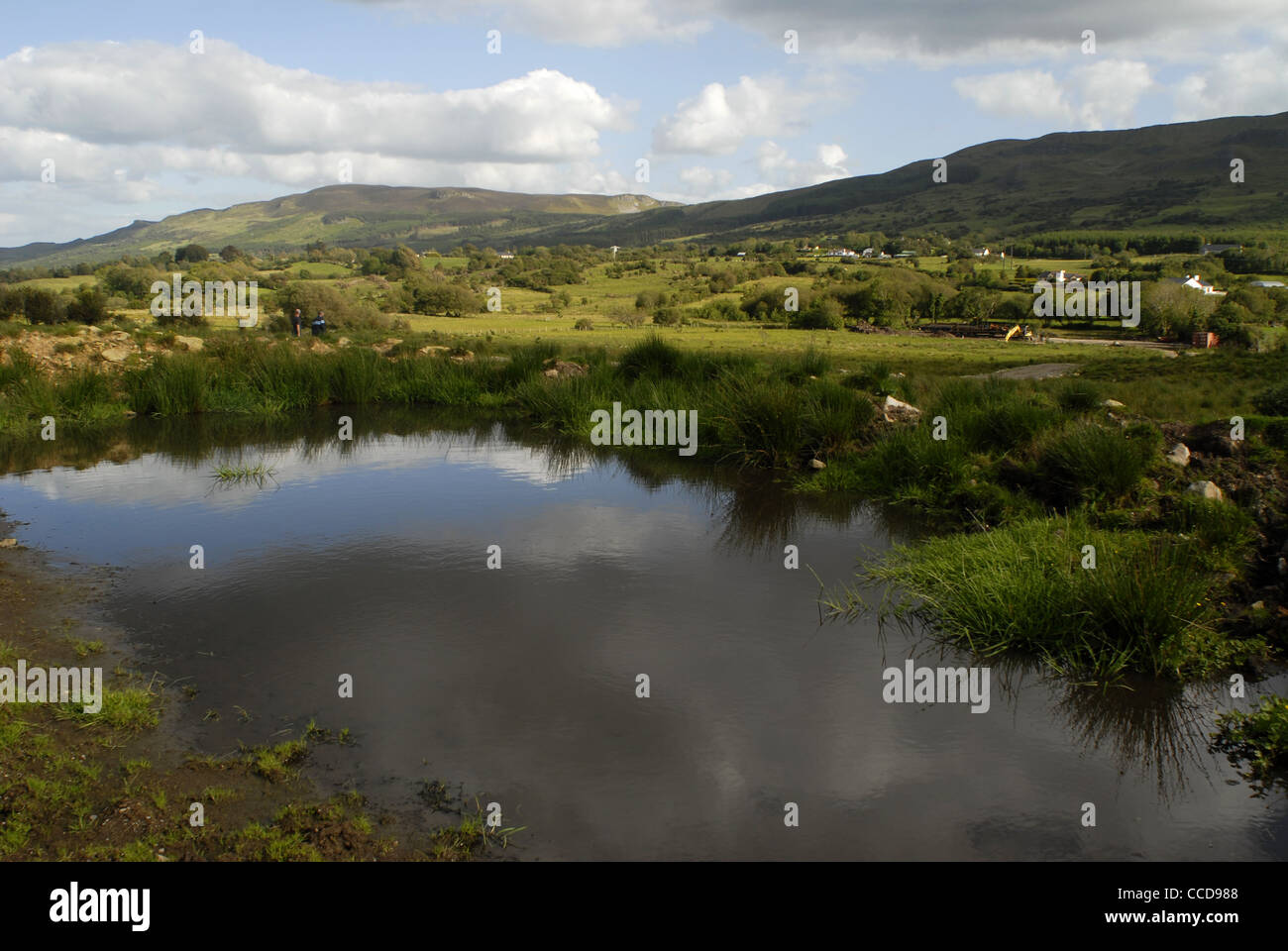 Surroundings of Lough Melvin, County Leitrim, Connacht, Ireland, Europe. - Stock Image