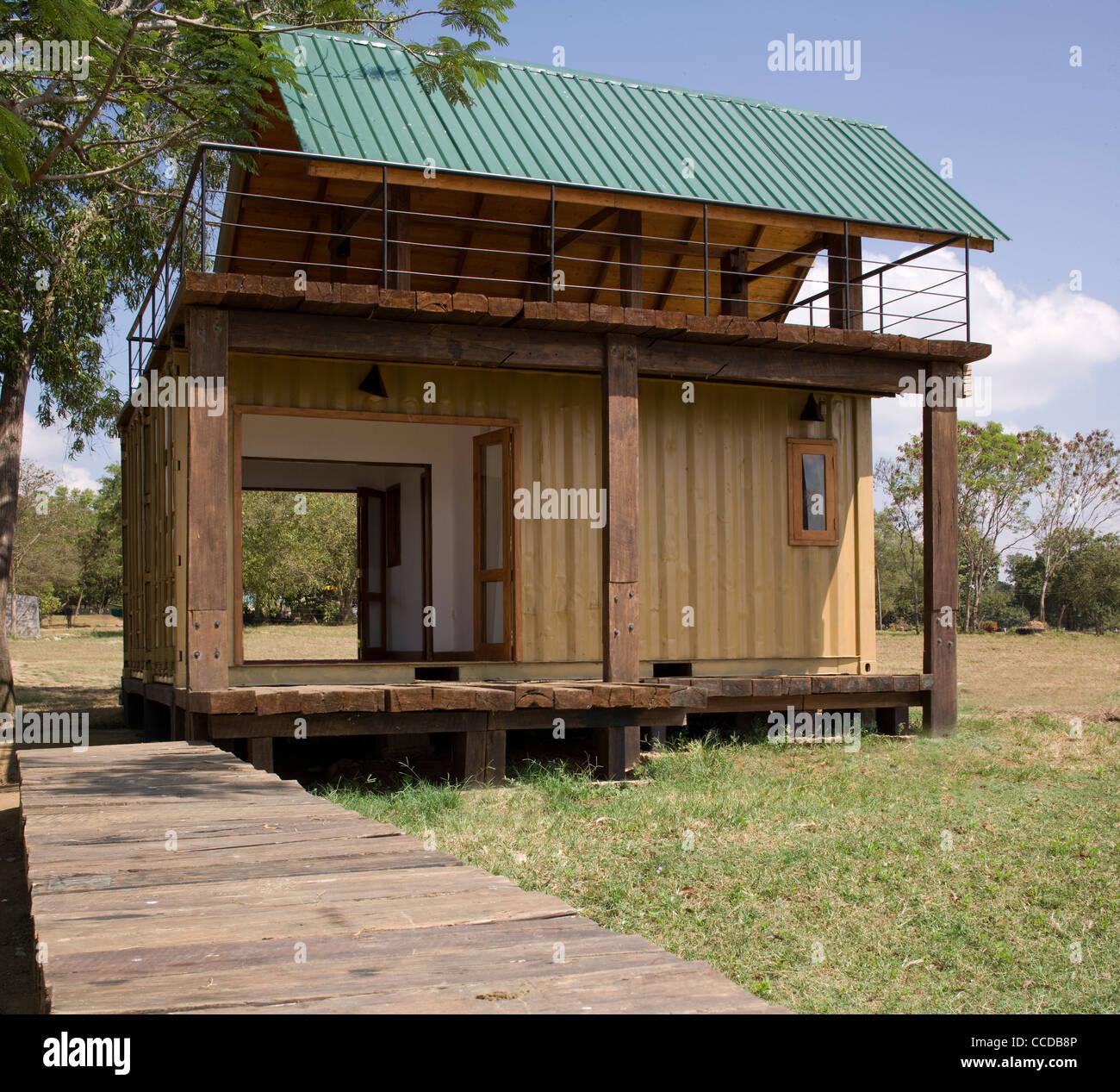 Tiny Homes 500 Sq Ft Holiday Cabana Maduru Oya Sri Lanka Damith Premathilake