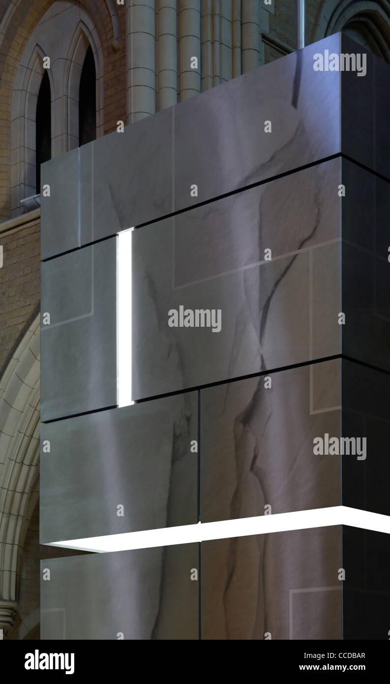 AMBIGUOUS OBJECT DETAIL, ELEVATION - Stock Image