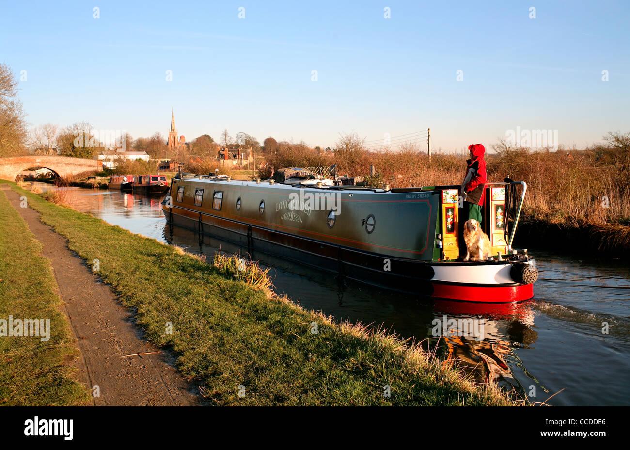 Narrow Boat - Stock Image