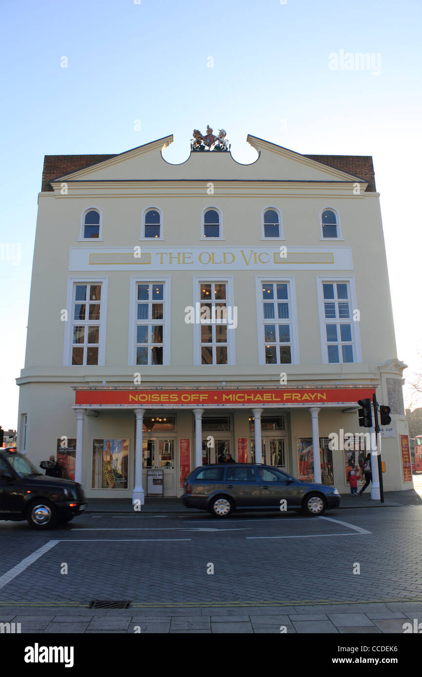The Old Vic theatre, The Cut, Southwark, London England UK - Stock Image