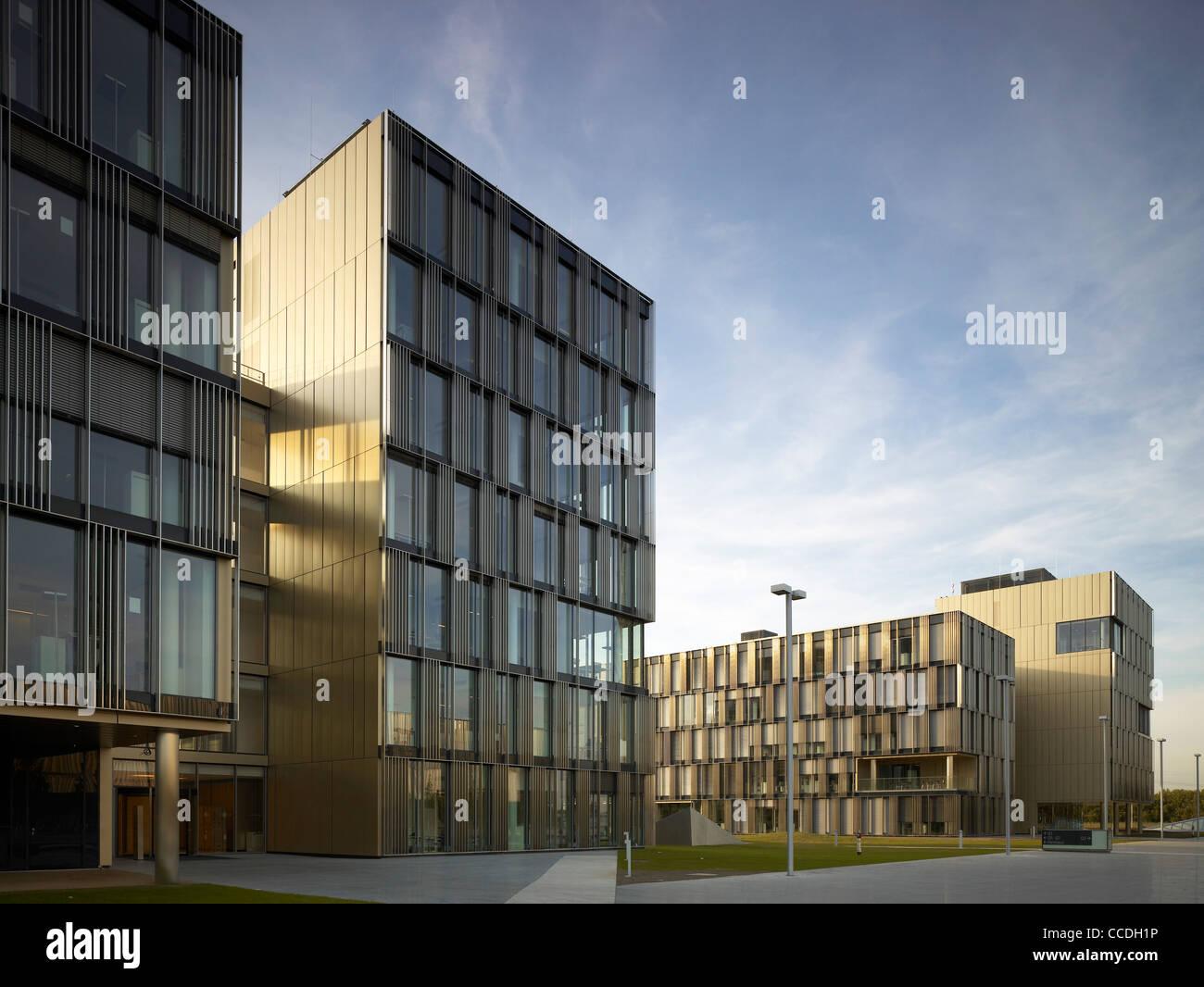Thyssenkrupp Headquarters Essen Stock Photos ...