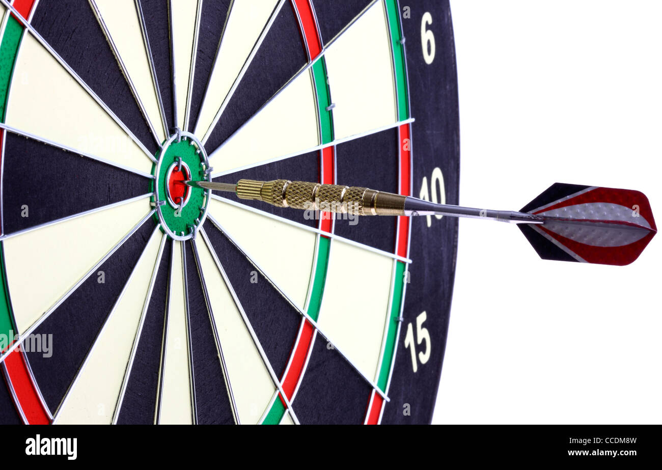 Dartboard Dart Game Throwing Darts Stock Photo 42097913 Alamy