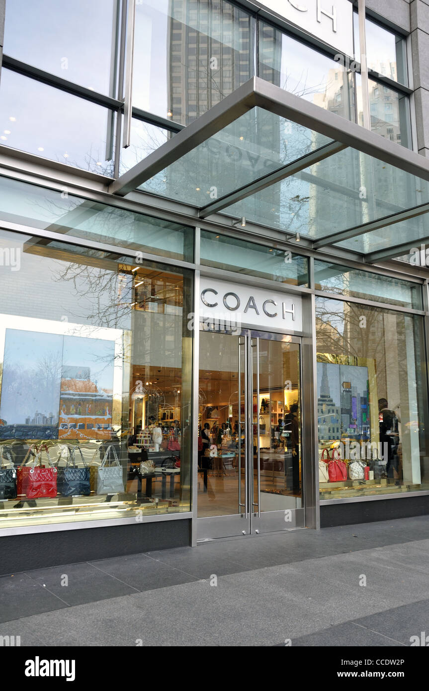 2891bcd210 Coach handbag store, New York, USA Stock Photo: 42101662 - Alamy