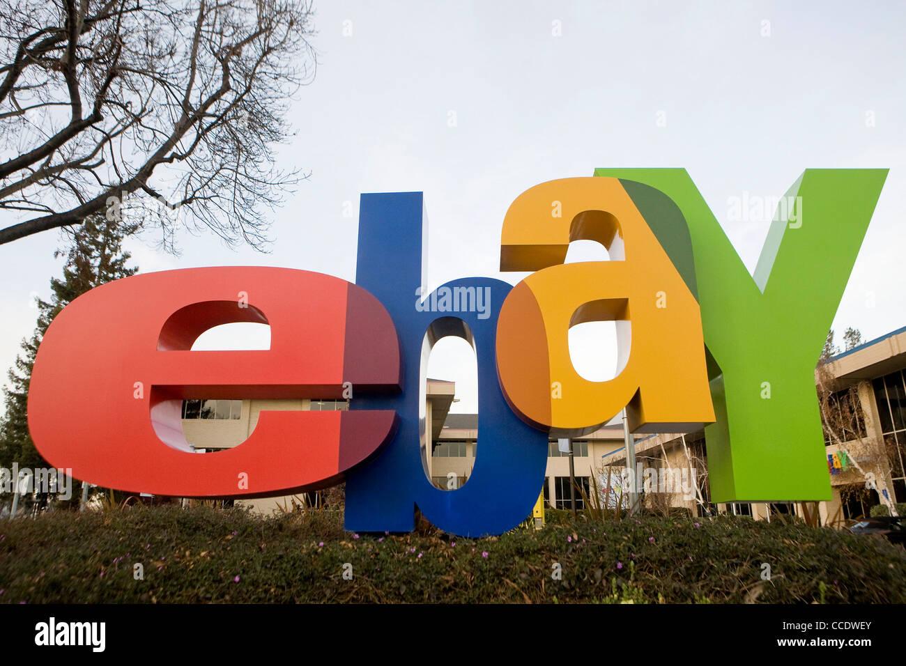 The headquarters of Ebay. - Stock Image