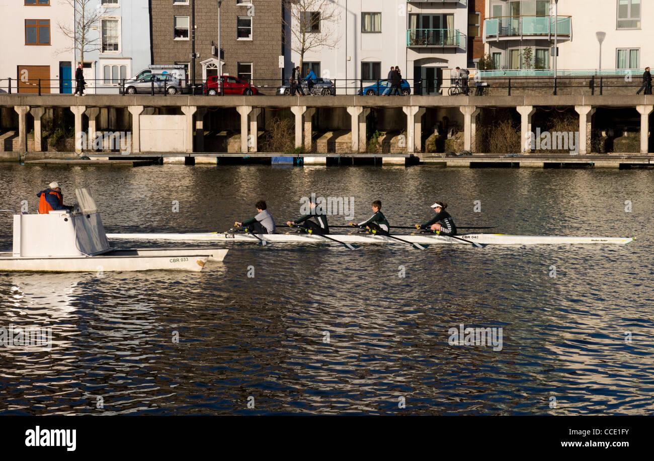 Bristol Floating Harbour - Stock Image