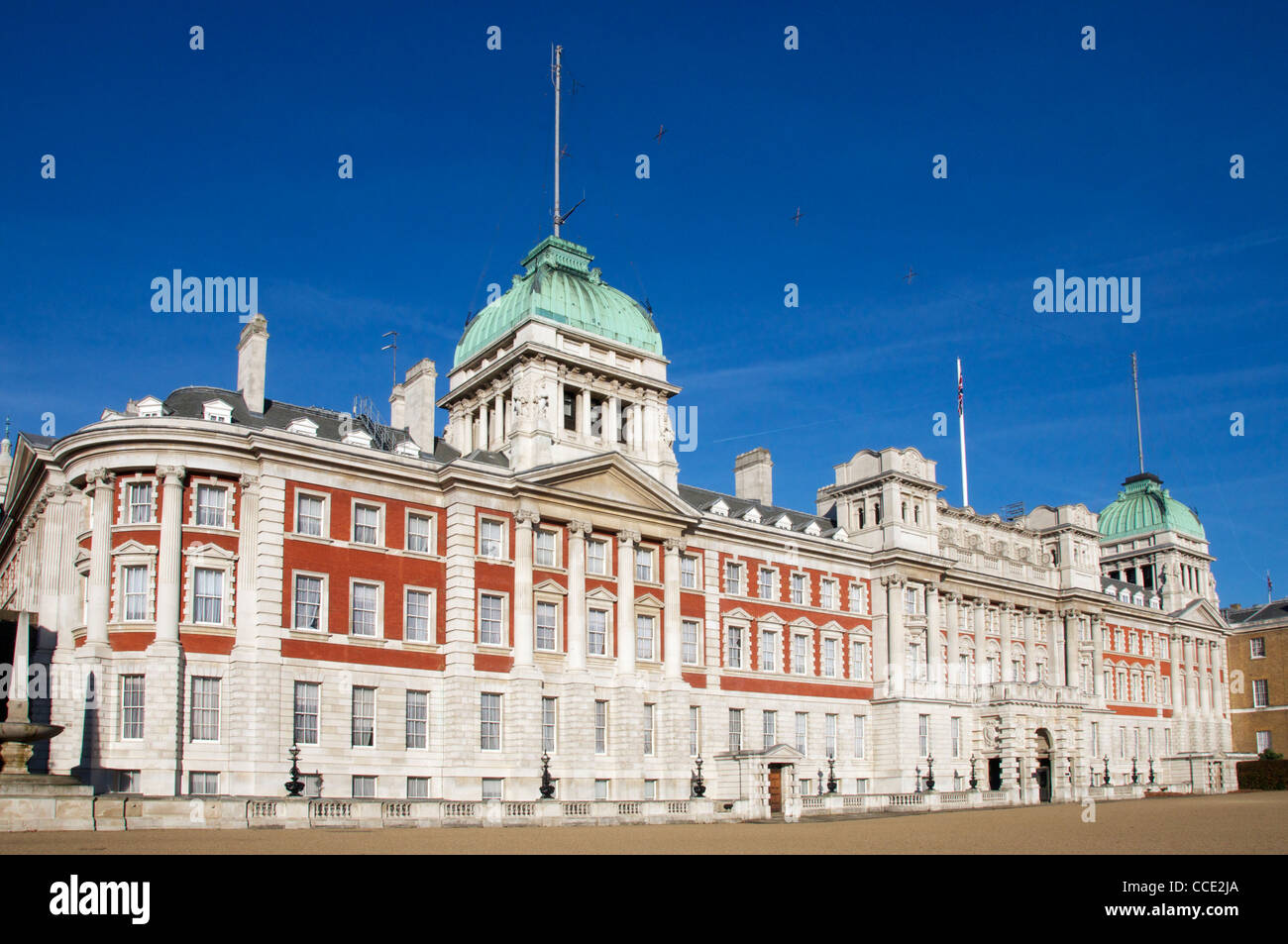 Admiralty House Horse Guards Parade London England Stock Photo