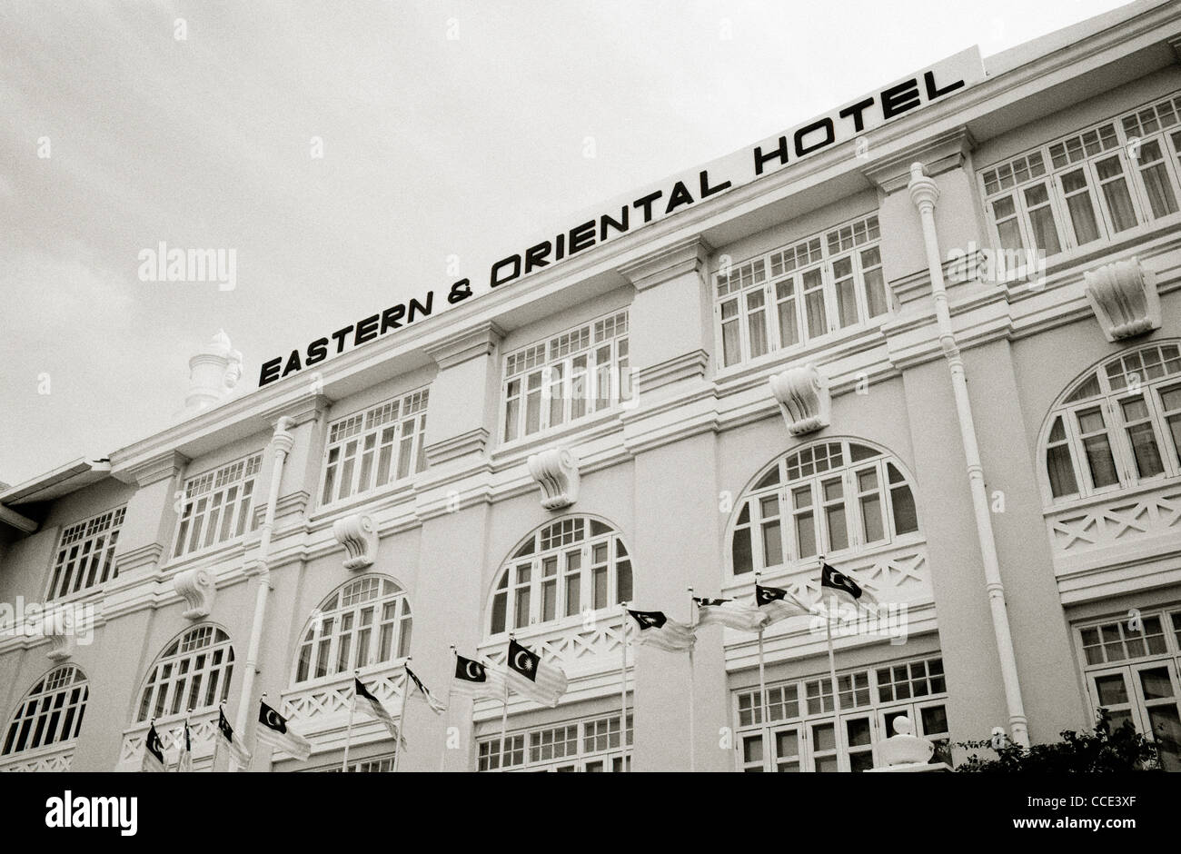 The Eastern and Oriental Hotel in George Town in Penang Island in Malaysia in Far East Southeast Asia. Exclusive - Stock Image