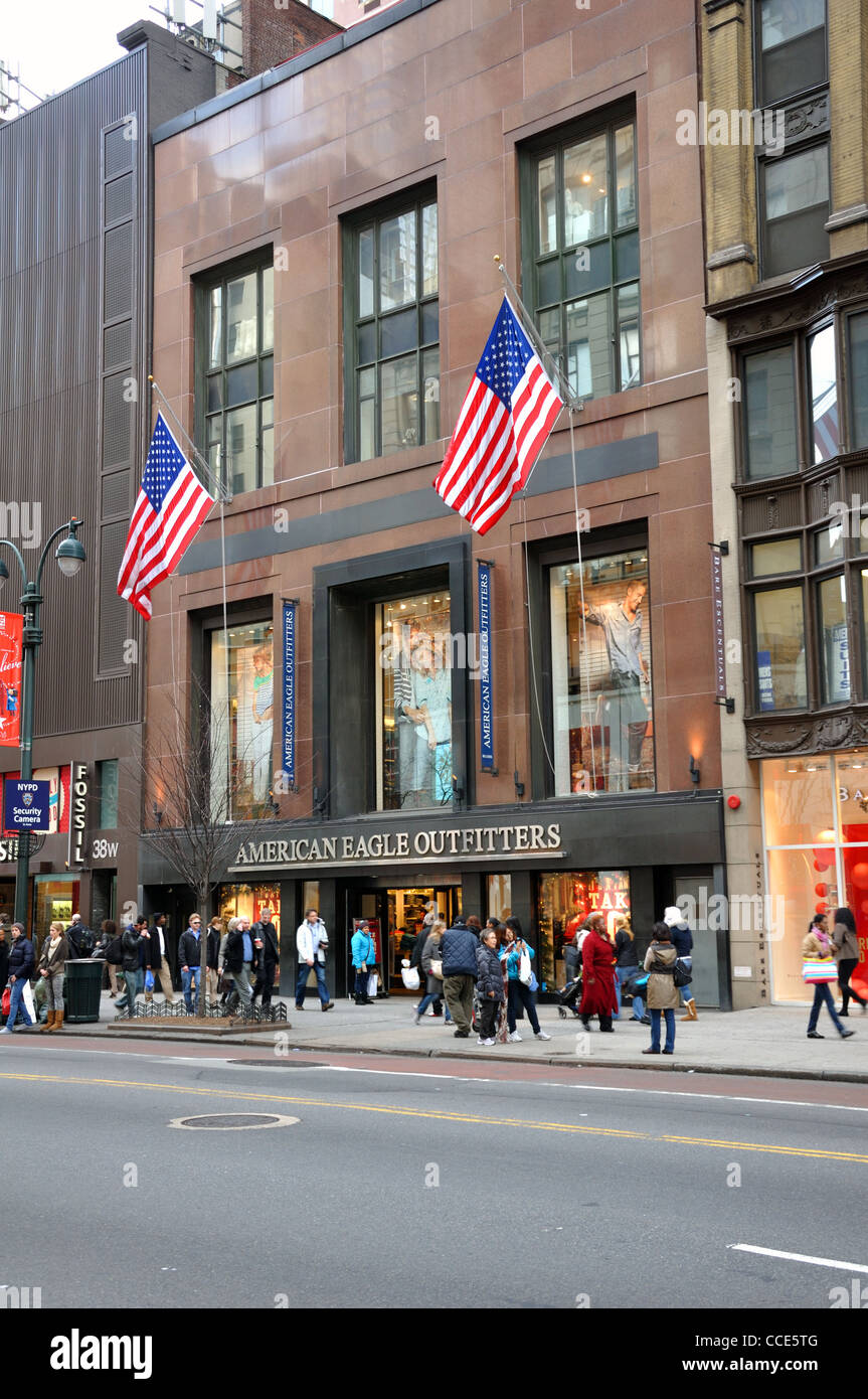 American Eagle Store New York USA