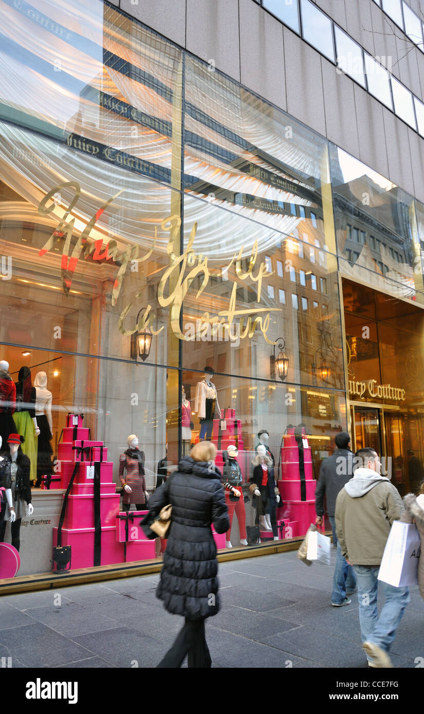 Juicy Couture store, New York, USA - Stock Image