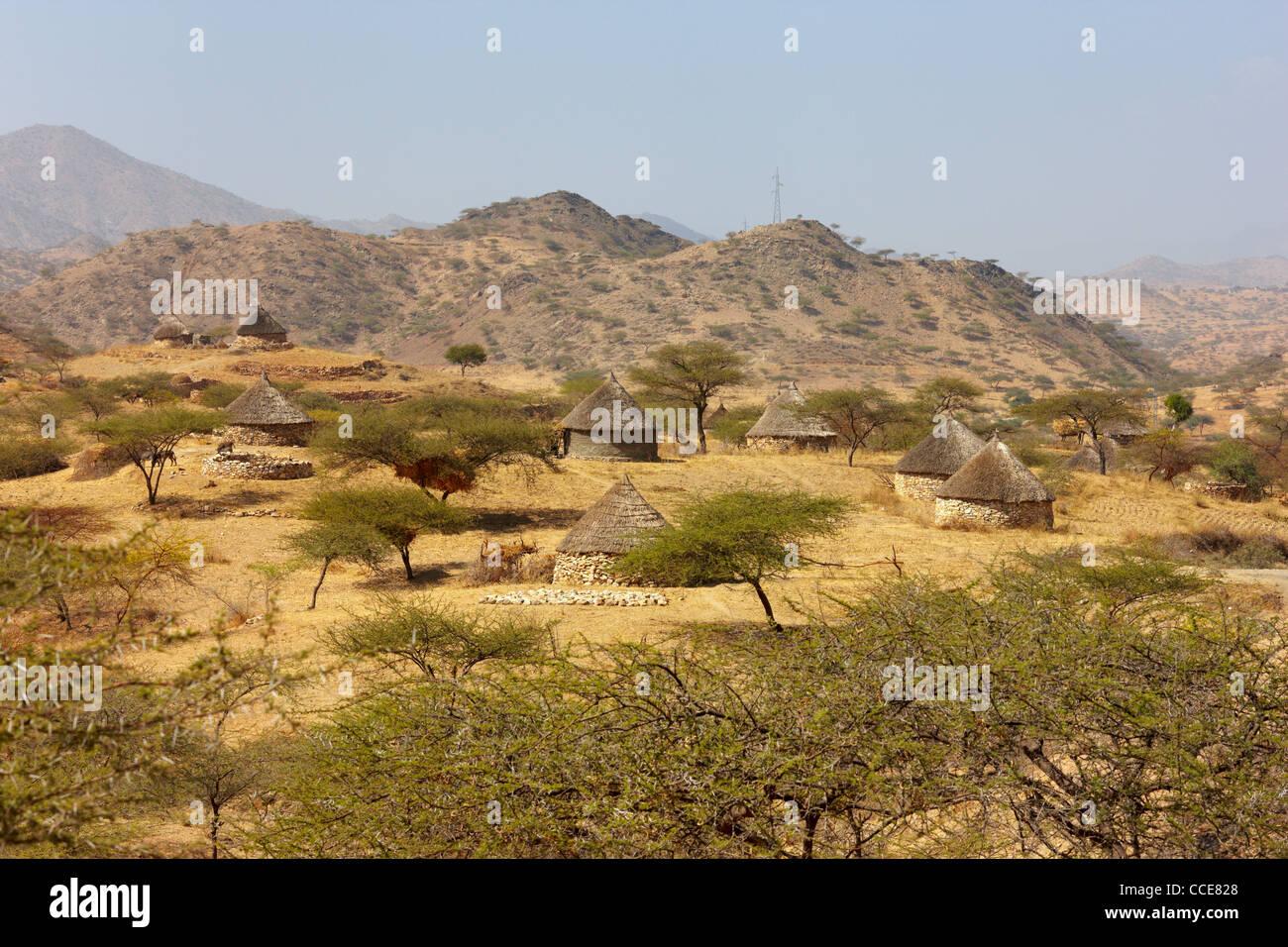 Eritrean Highlands, Eritrea, Africa Stock Photo