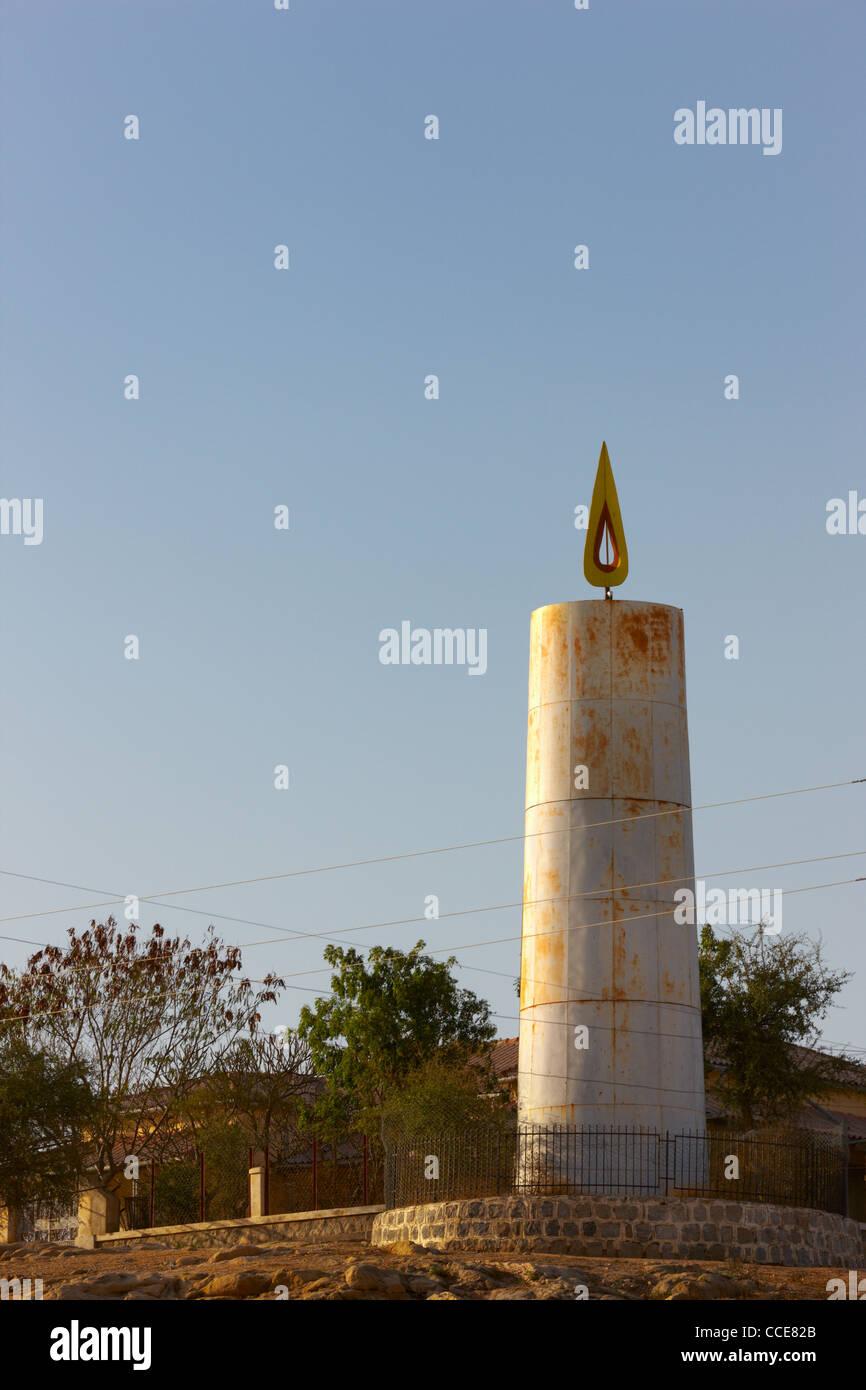 Monument for Eritrean Martyr's, Keren, Eritrea, Africa - Stock Image