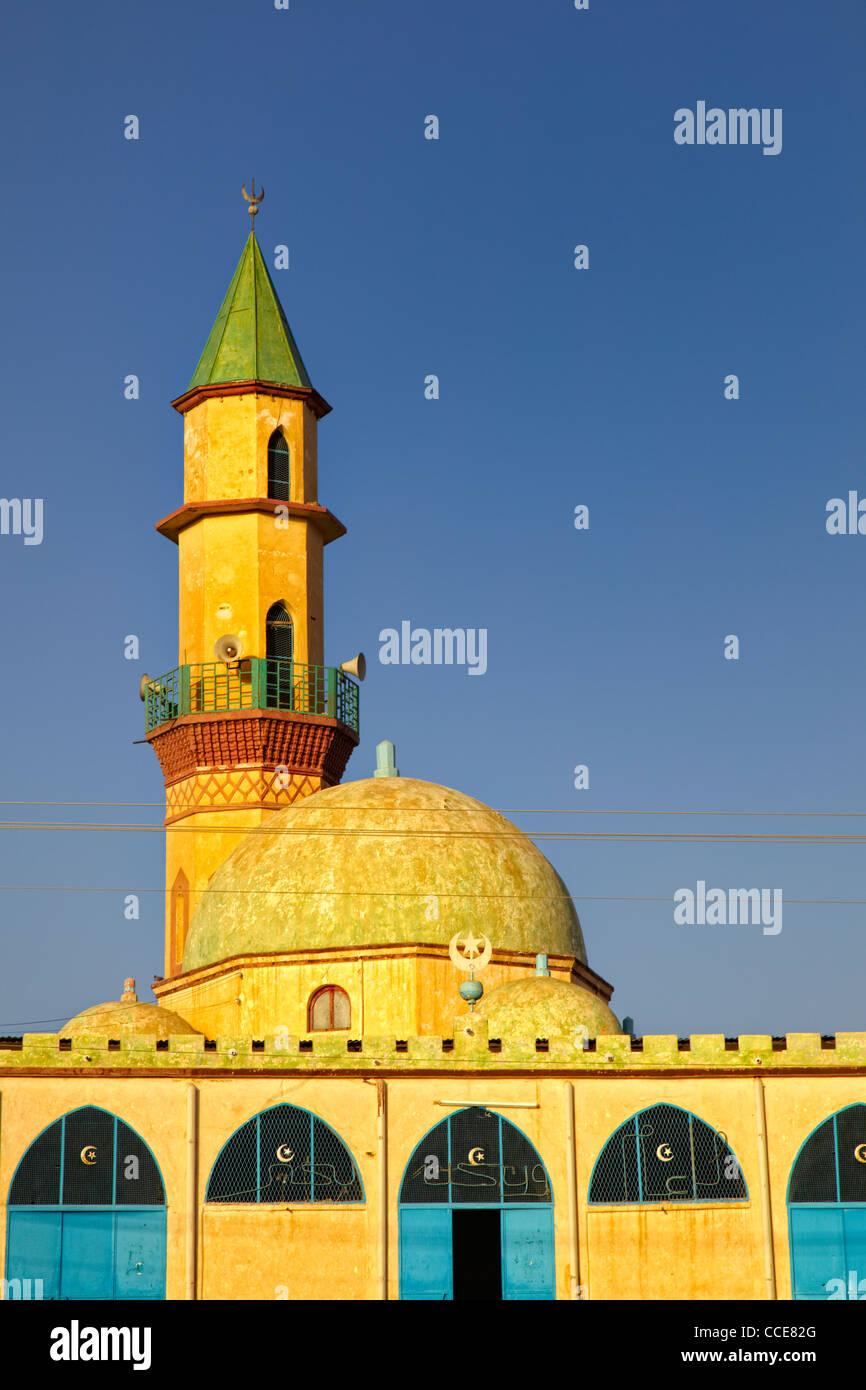 Grand Mosque (Jami'e Atiek), Keren, Eritrea, Africa - Stock Image