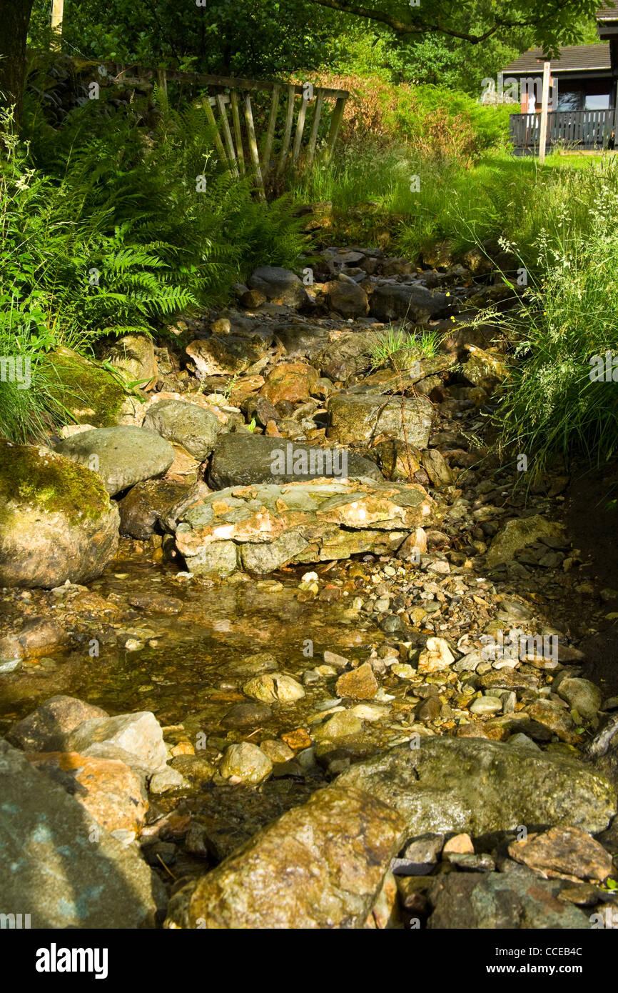 Stream, Hartsop Gap, Cumbria, UK Lake District - Stock Image