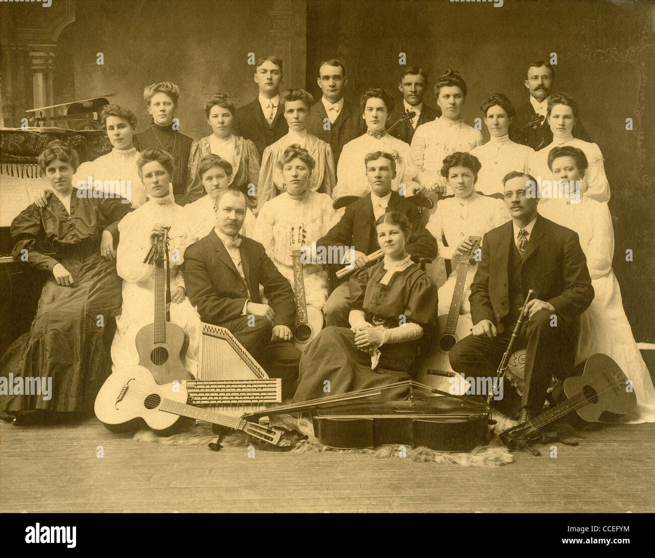 Early 1900s Musicians Stock Photos & Early 1900s Musicians Stock