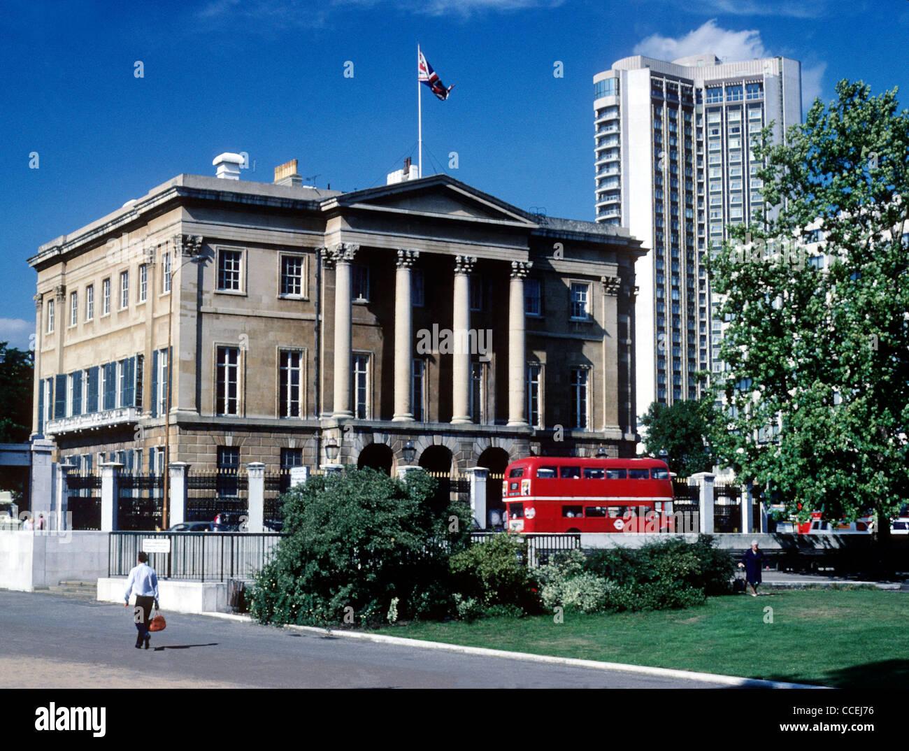 Apsley House, No.1 Piccadilly, Hyde Park Corner, home of 1st Duke of Wellington The Iron Duke London England UK - Stock Image