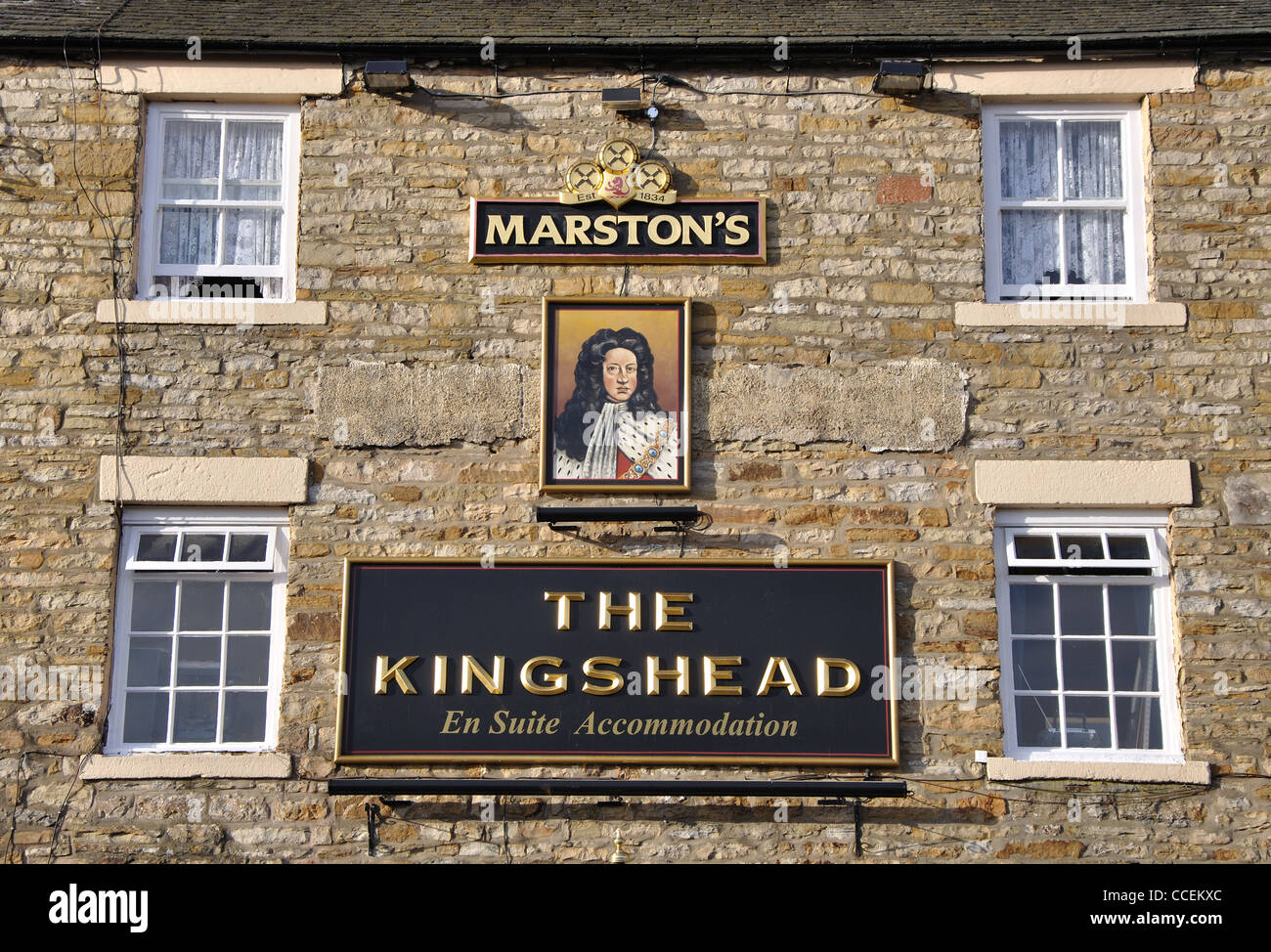 The Kings Head public house, Allendale,Northumberland, England, UK - Stock Image