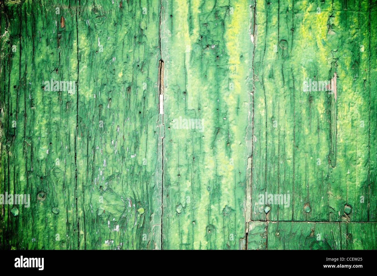 abstract foreground an old wooden door - Stock Image