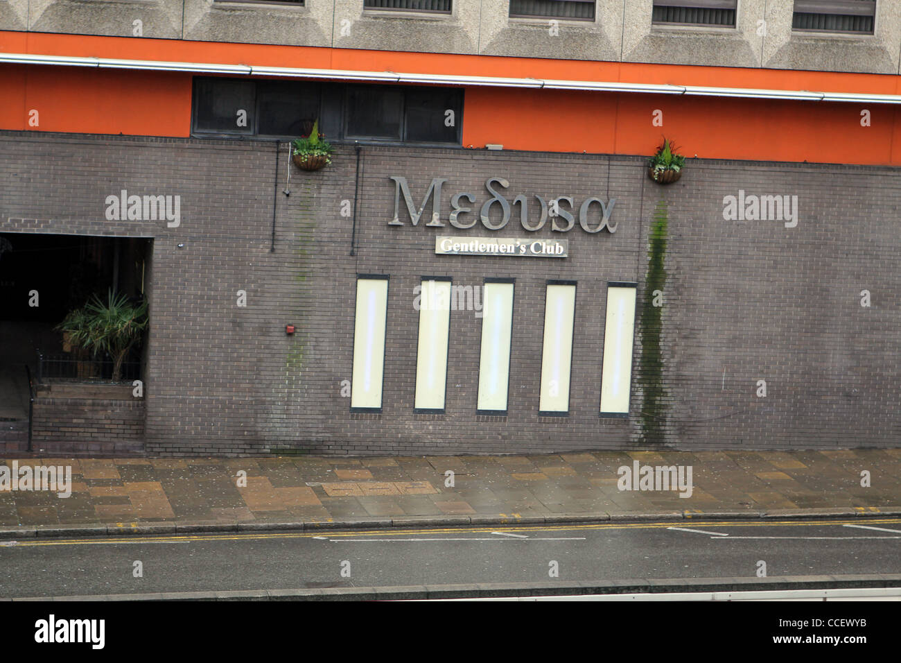 Medusa 'Gentlemen's Nightclub' in Birmingham, England, UK - Stock Image