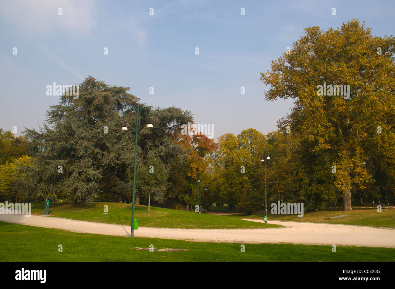 Parco Sempione park central Milan Lombardy region Italy Europe - Stock Image