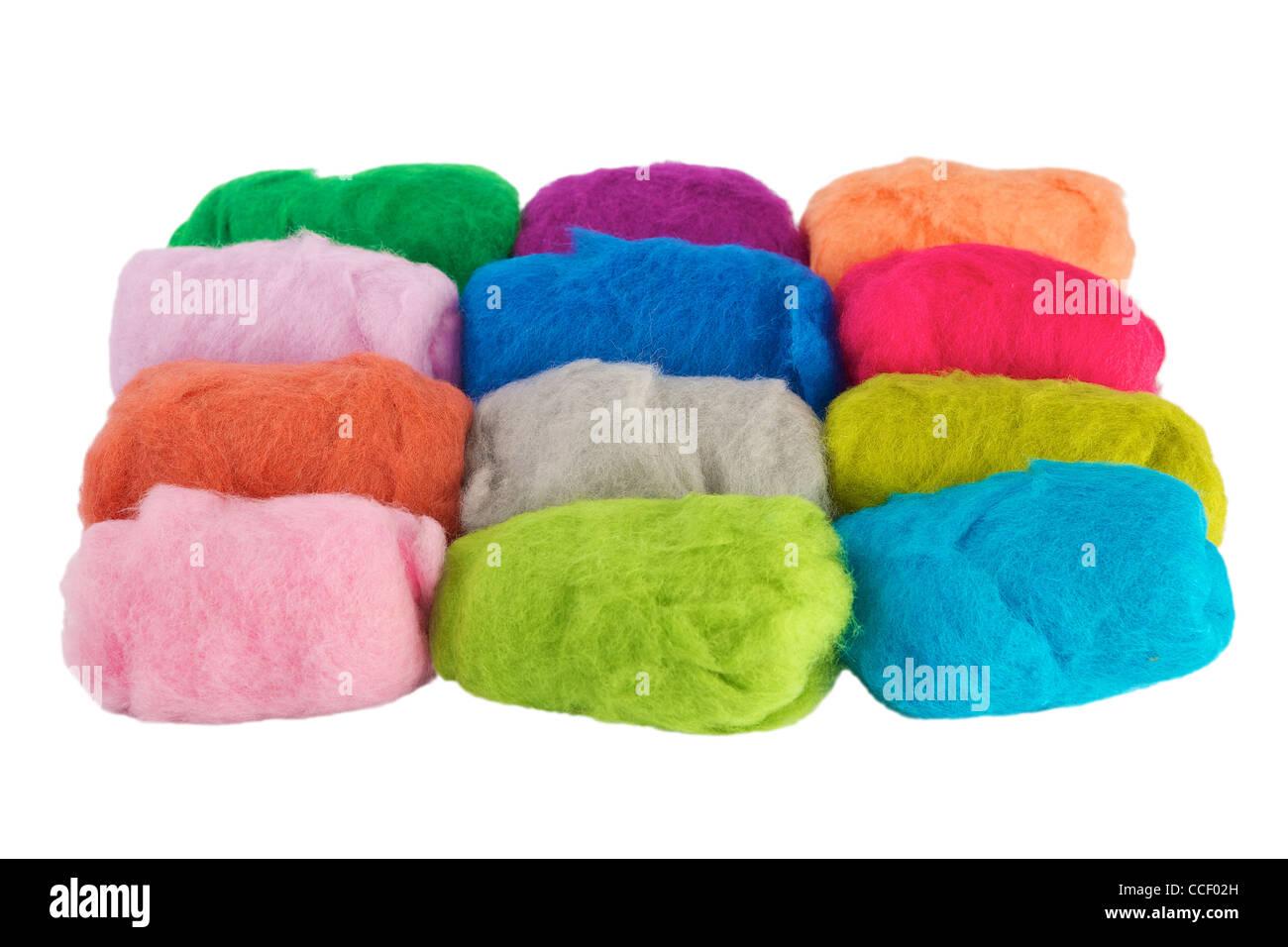 Wool - Stock Image