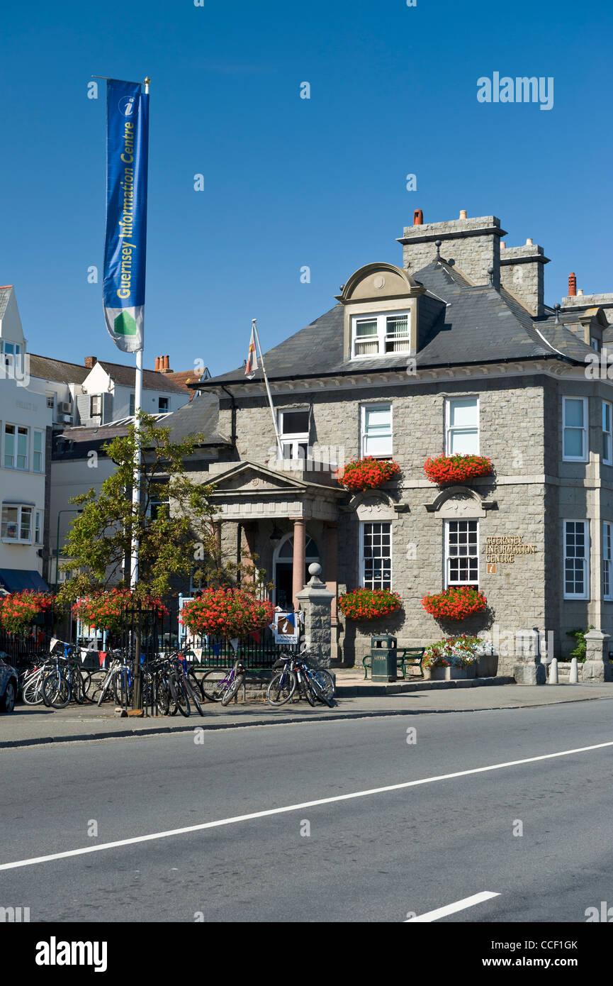 Channel Islands Guernsey Saint Peter Port tourist ...
