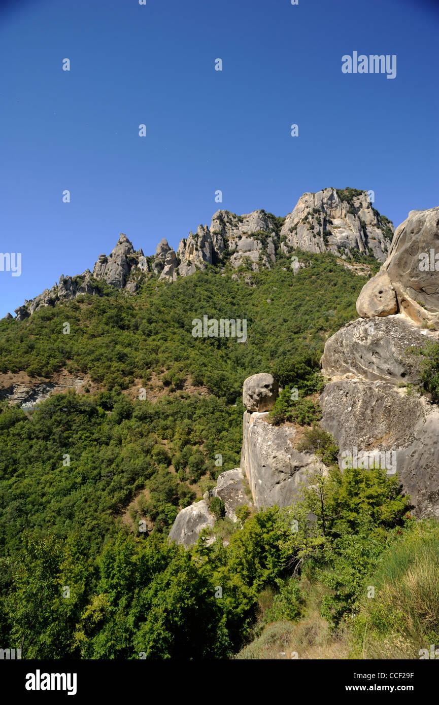 italy, basilicata, dolomiti lucane regional park Stock Photo