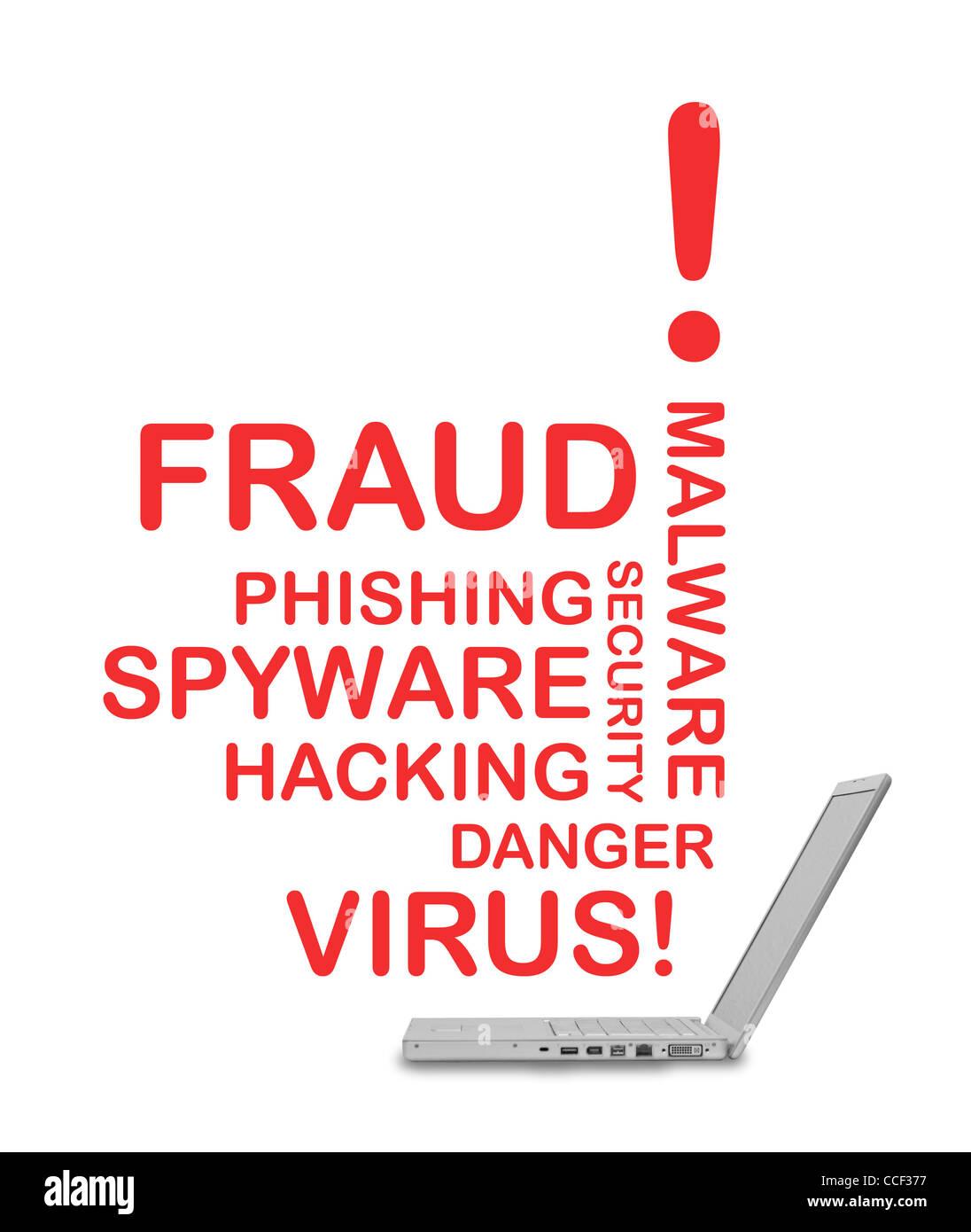 Hacking - Stock Image