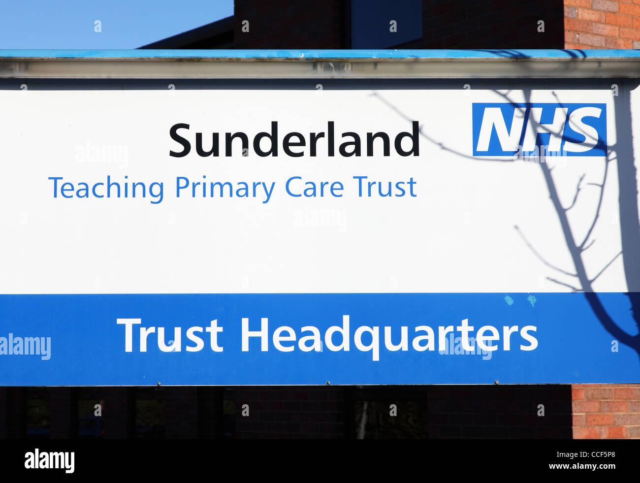 Sunderland Teaching Primary Care Trust NHS headquarters north east England UK - Stock Image
