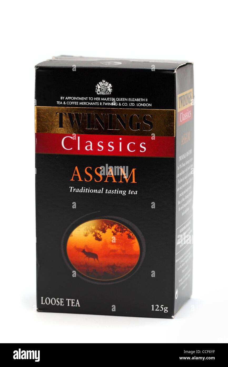 classics Assam tea Stock Photo