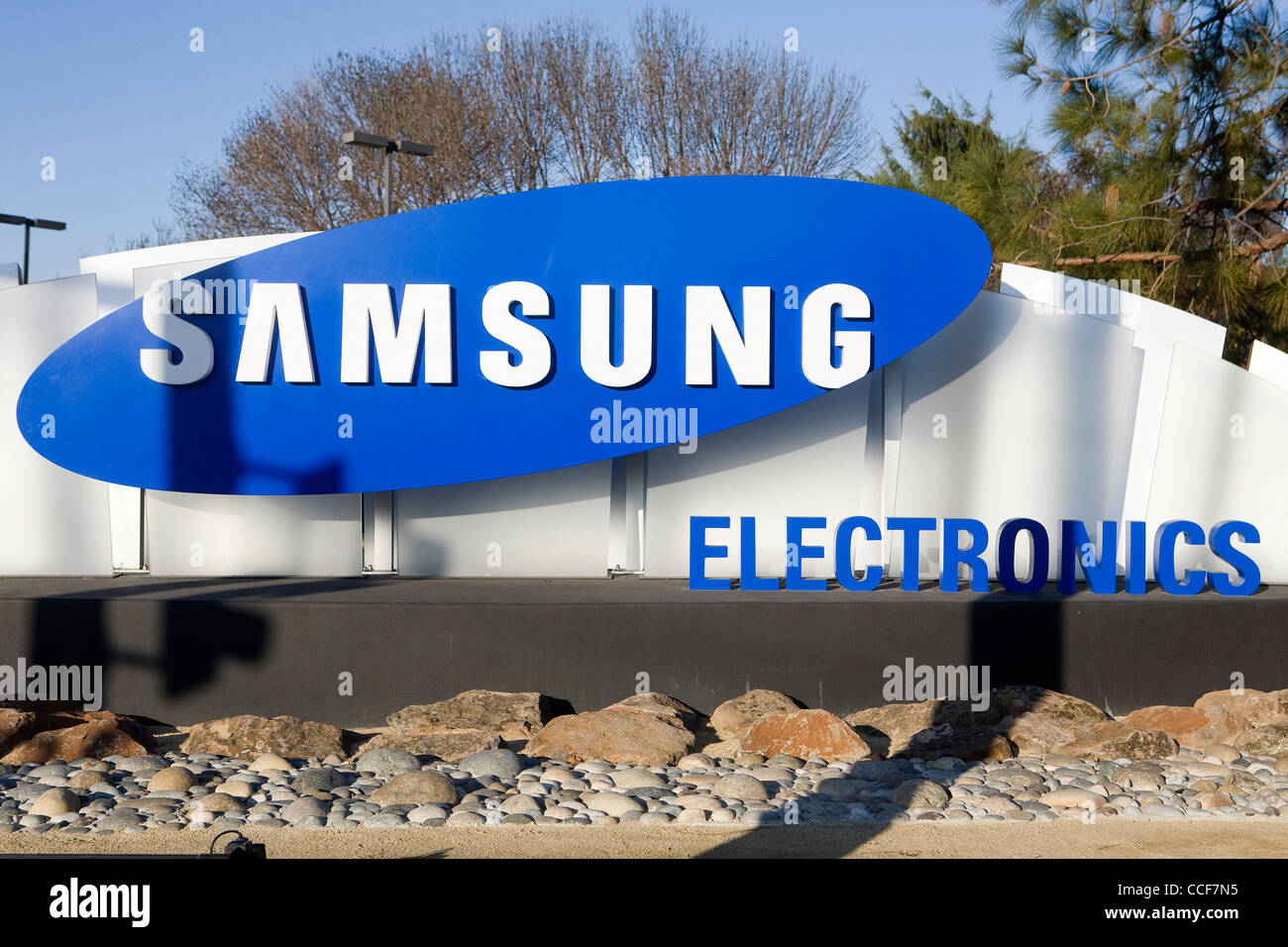 An office building occupied by Samsung Electronics. - Stock Image