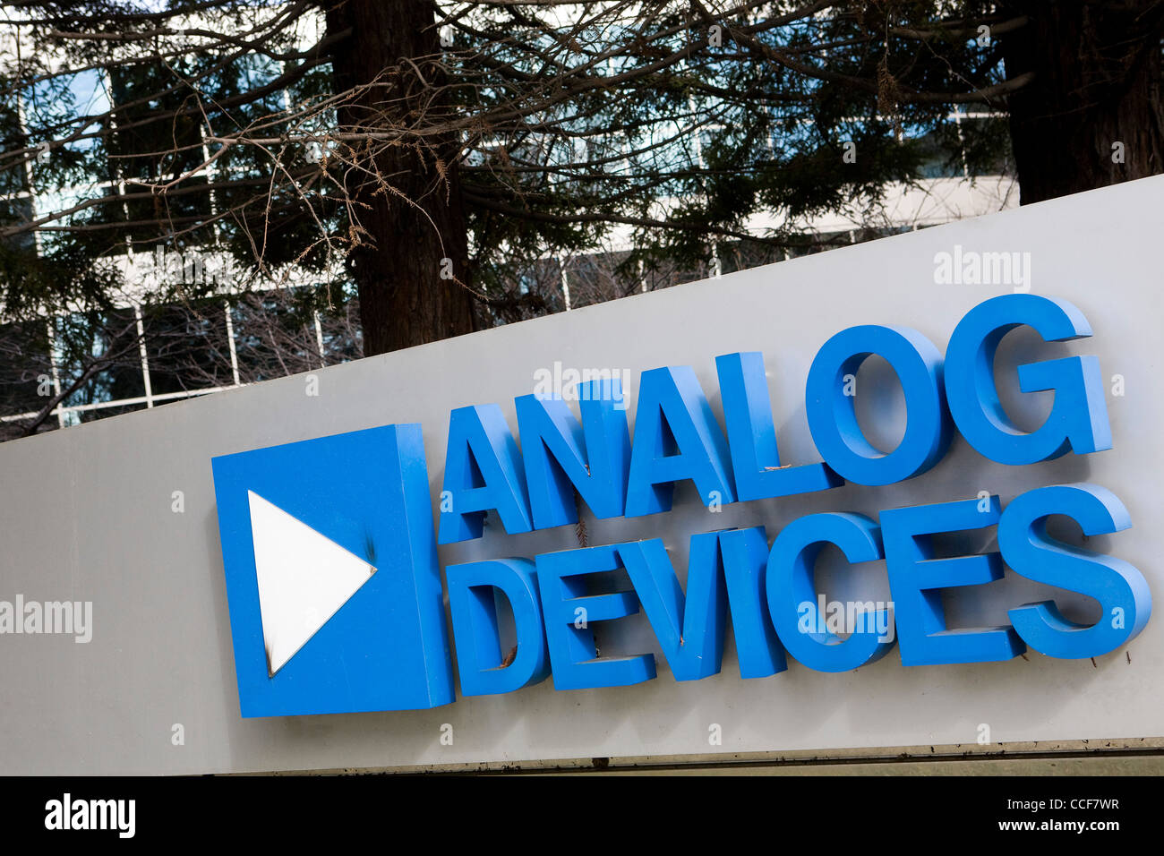 An office building occupied by Analog Devices. - Stock Image