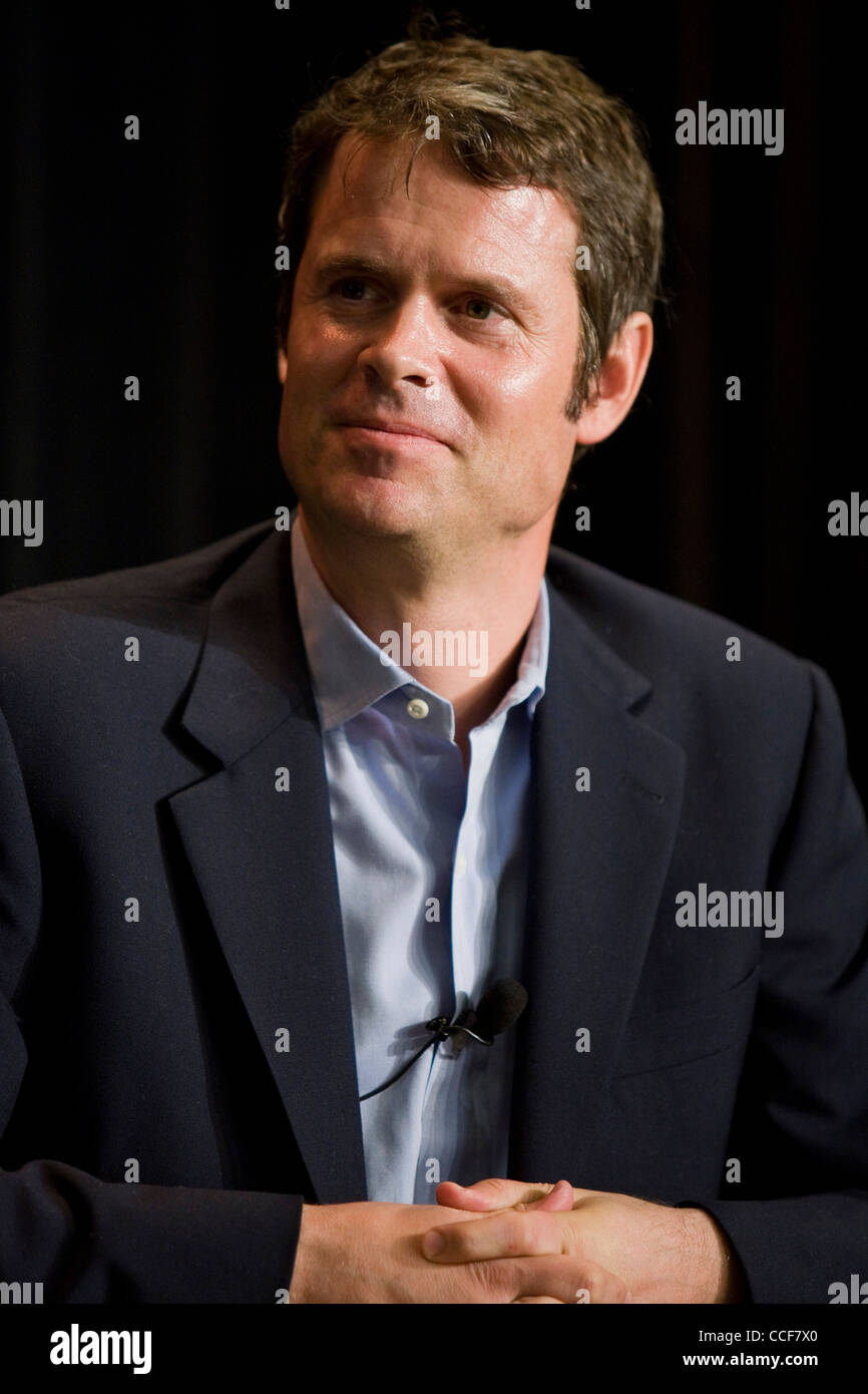 The founder of Pandora Radio and Chief Strategy Officer, Tim Westergren.  - Stock Image
