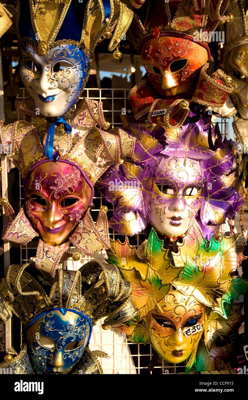 Carnival Masks, Venice, Italy Stock Photo