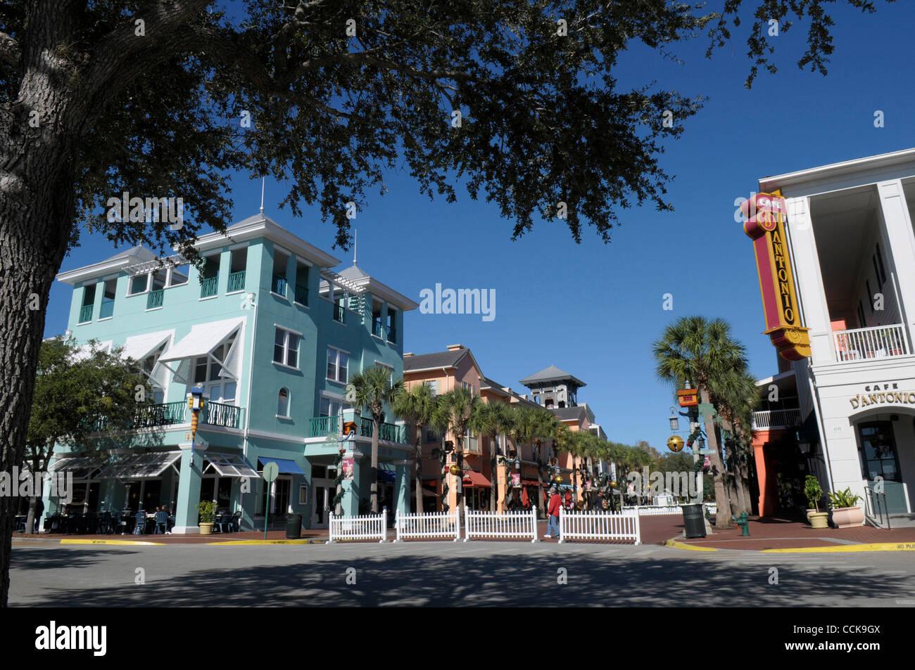 Dec 03 2010 Celebration Florida U S Shops And