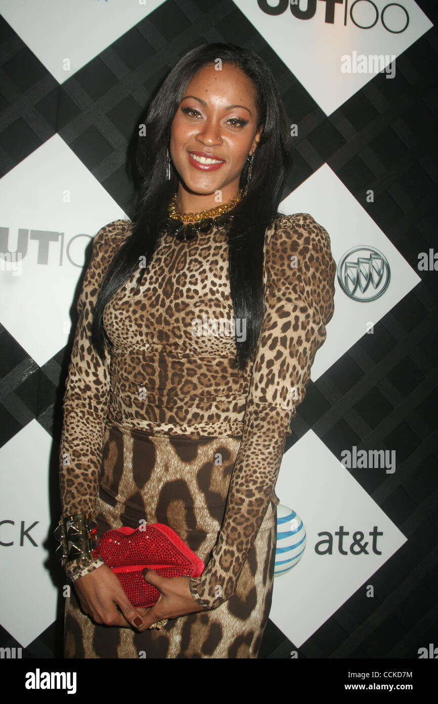 Nov. 22, 2010 - New York, New York, U.S. - SHONTELLE.OUT Magazine's 16th annual OUT 100 celebration at the IAC - Stock Image