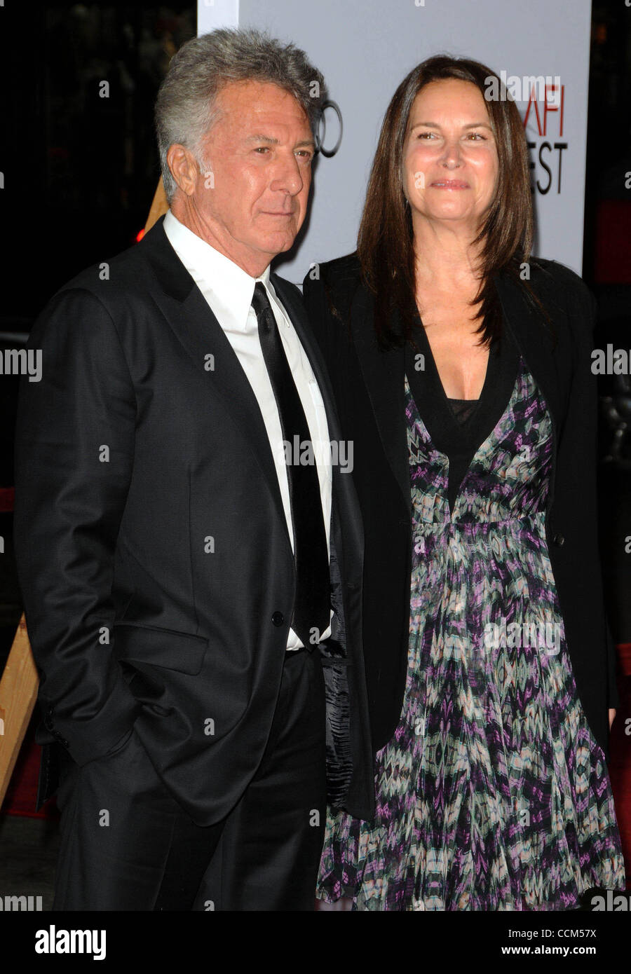 Nov. 6, 2010 - Los Angeles, California, U.S. - Dustin Hoffman Attending The AFI Fest Centerpiece Gala Screening - Stock Image