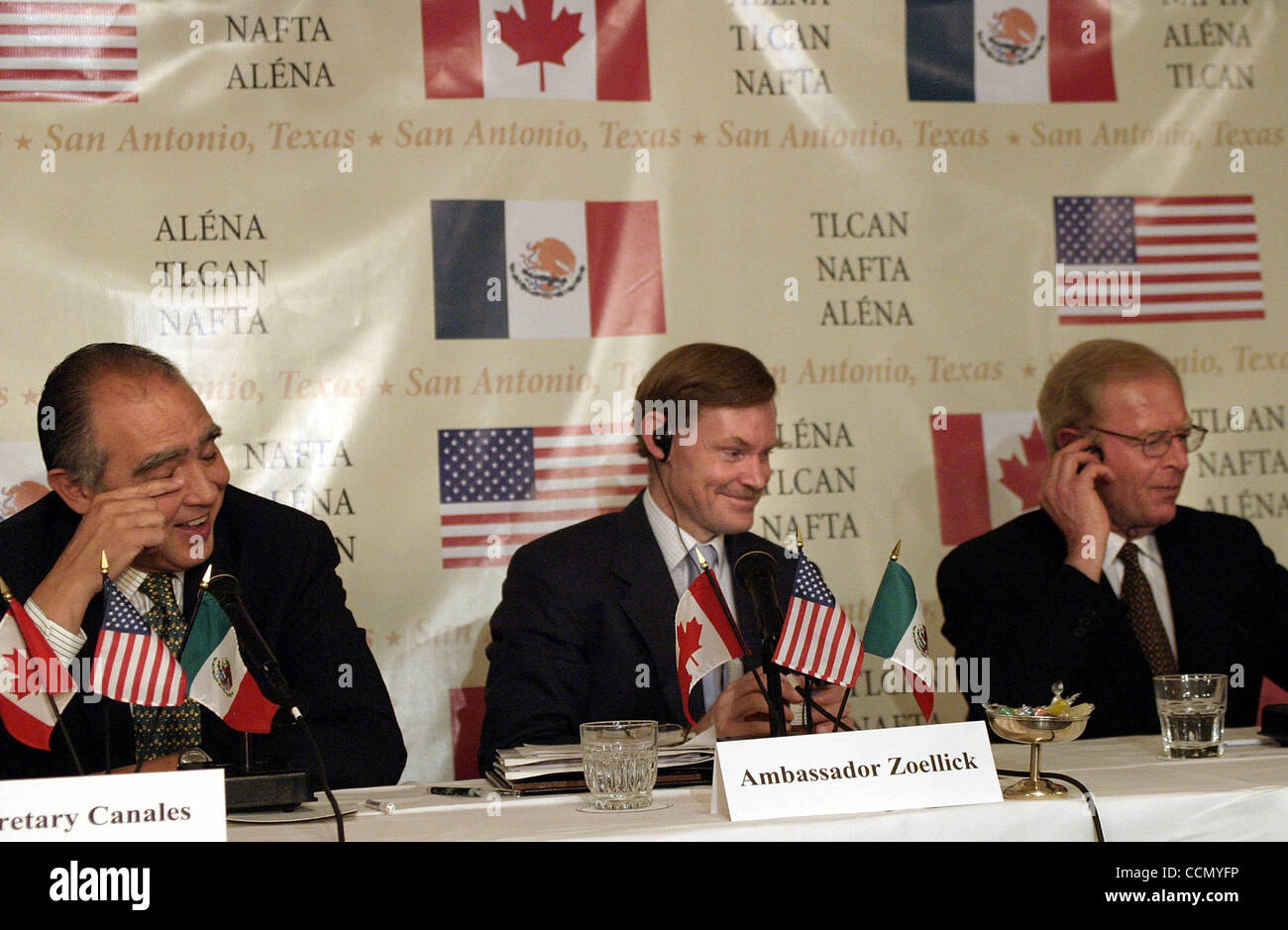 Bus Nafta 071604 Meeting After Ten Years Of The North American