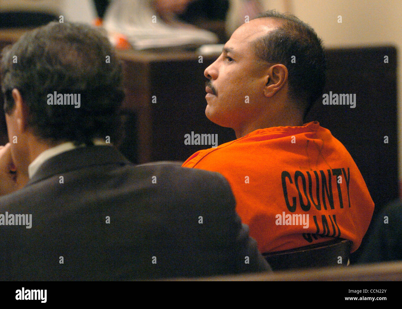 METRO Tony Ayala , Jr  waits for his probation hearing in the 186th